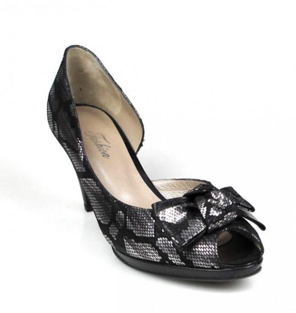 peep toe metal negro.o111
