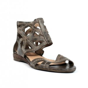 Sandalia marrón romana.u720eb