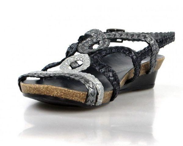 sandalias trenzadas bio. o798