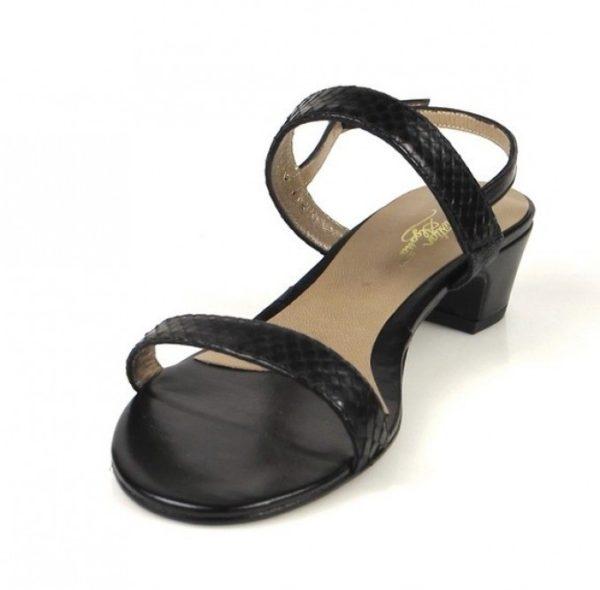 sandalia negra serpiente.o854