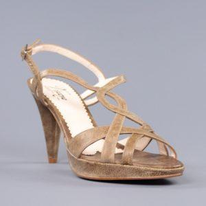 sandalias color cuero elegantes.o925