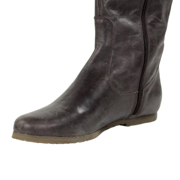 botas marrones piso crepe .o904