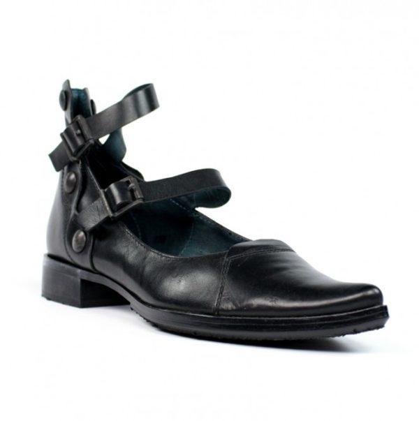 zapatos mujer negros planos.u719eb