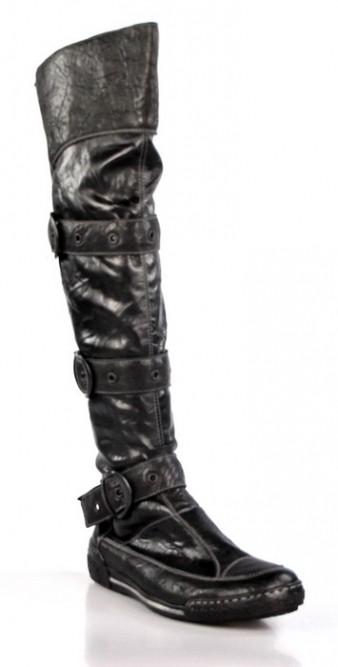 botas mosqueteras elásticas . o732