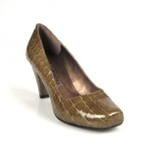 zapato charol taupe.1245