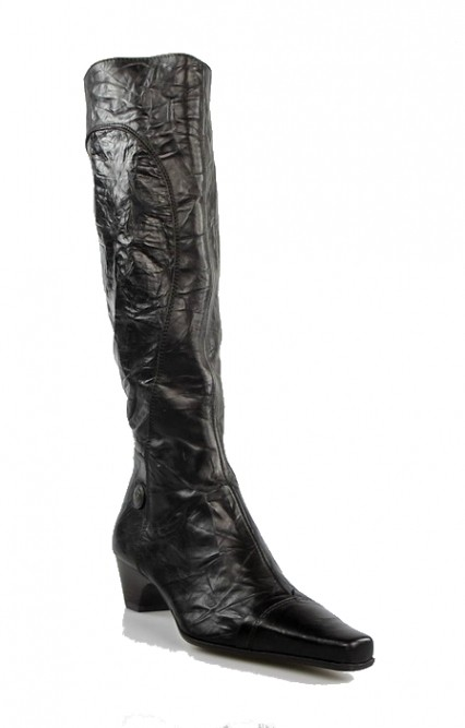 bota marrón de piel.u151