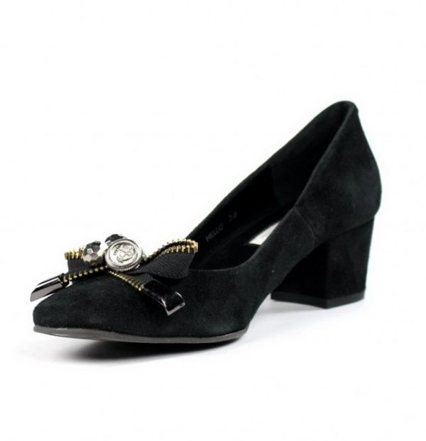 Zapatos negrto ante.u774