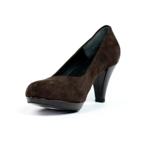 Zapatos marrones salón.u724eb