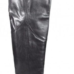 botas de piel estilo mosqueteras.o336