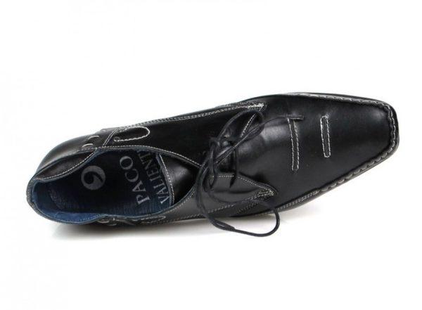 zapatos negros con cordones u207