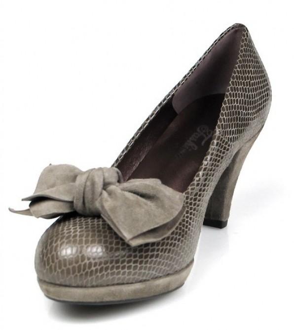 zapato salón taupe u215