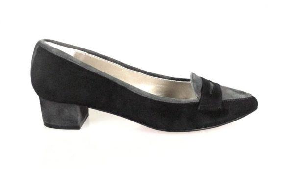 zapato negro ante.o358