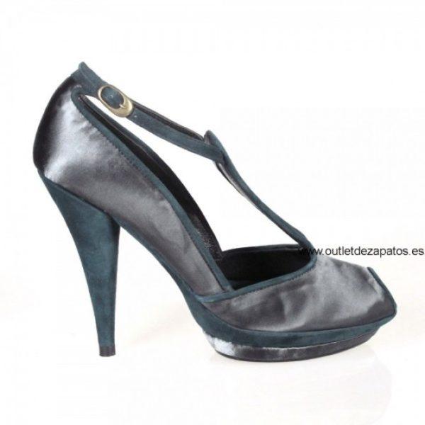 zapato vestir raso gris.o22