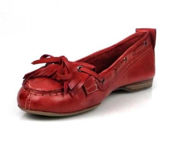 kiowas rojas de piel .u472