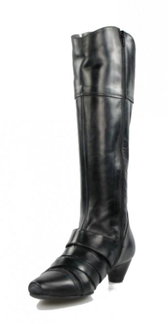 bota negra grisácea . u166