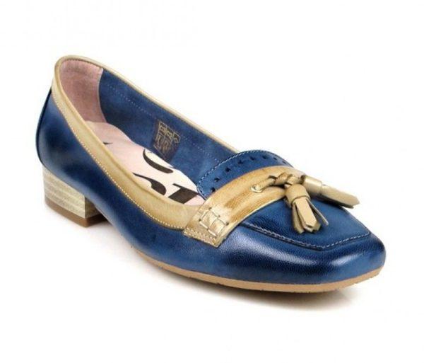 mocasines azules .u479