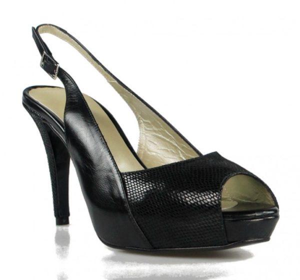 zapato destalonado tacón .o872