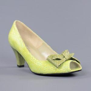 Zapatos verde pistacho.u828x