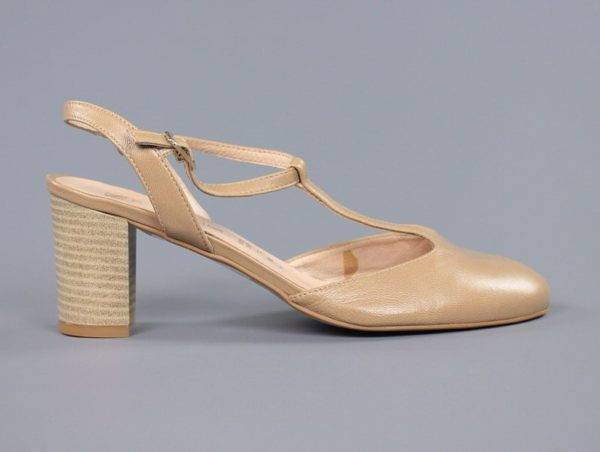 Zapatos destalonados camel.u853x