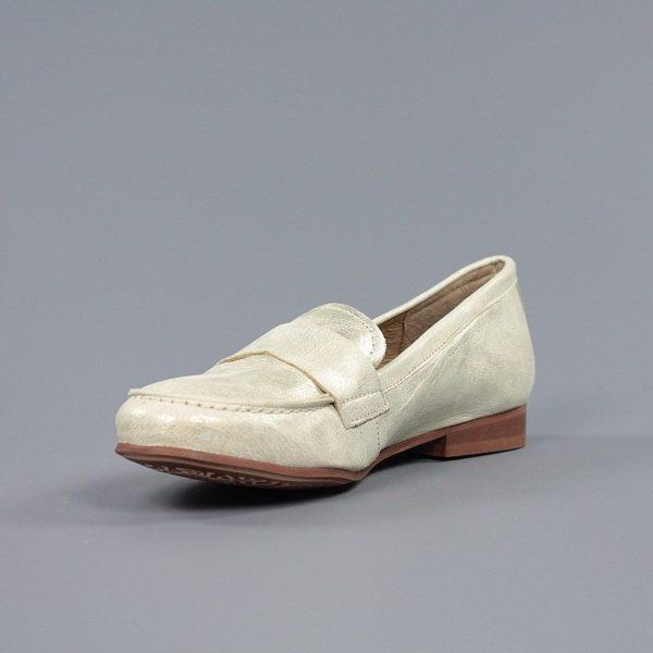 Zapato plano dorado.u980x
