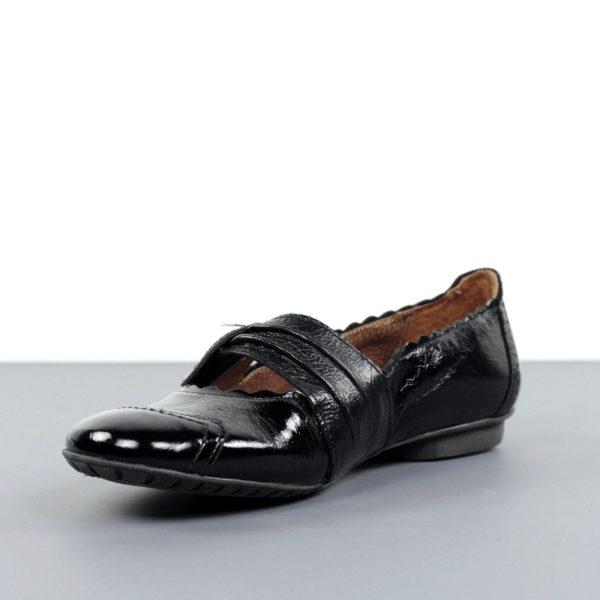Zapatos plano charol.t015x
