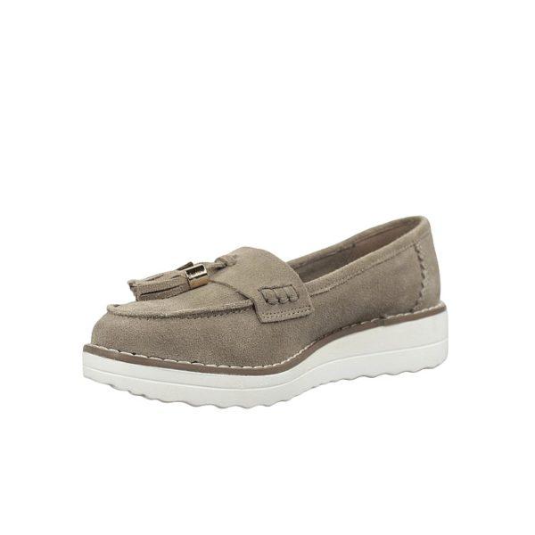Zapatos taupe carmela.t019x