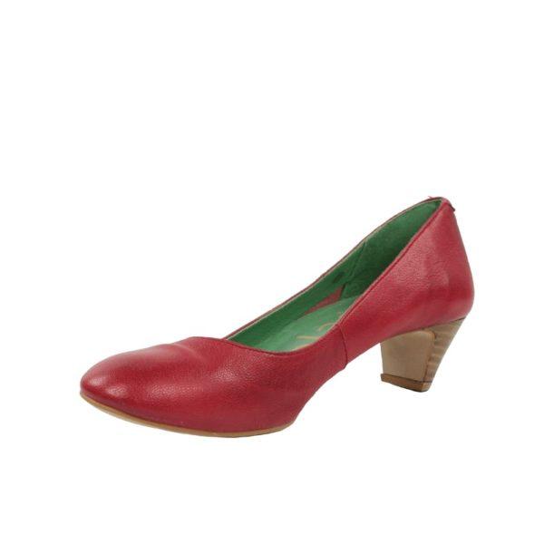Zapatos rojos blandos.t028x