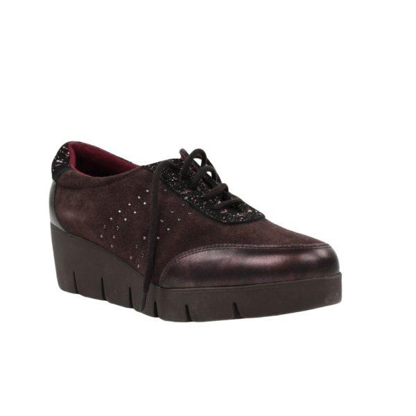 Zapatos cordones marrones.t030x