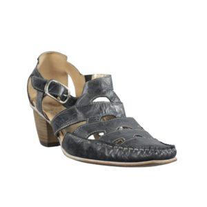 Zapatos negros blandos piel.t036xal