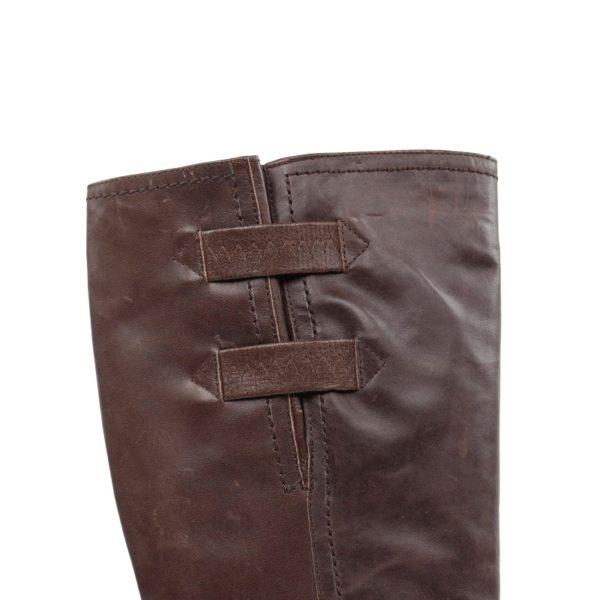 Bota alta marrón.t043xal