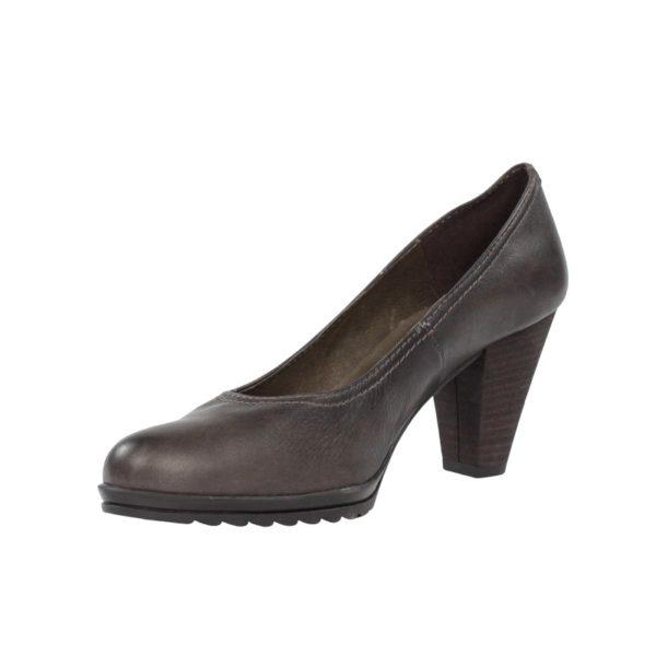 Zapato tacón taupe.t062xal
